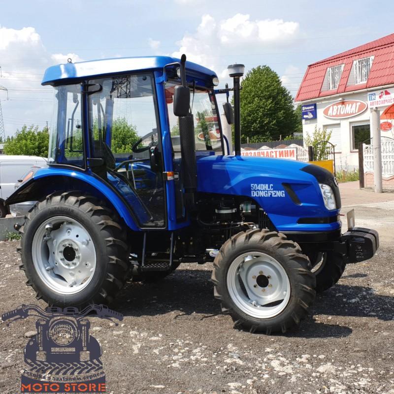 Трактор Донгфенг 504 с кабиной