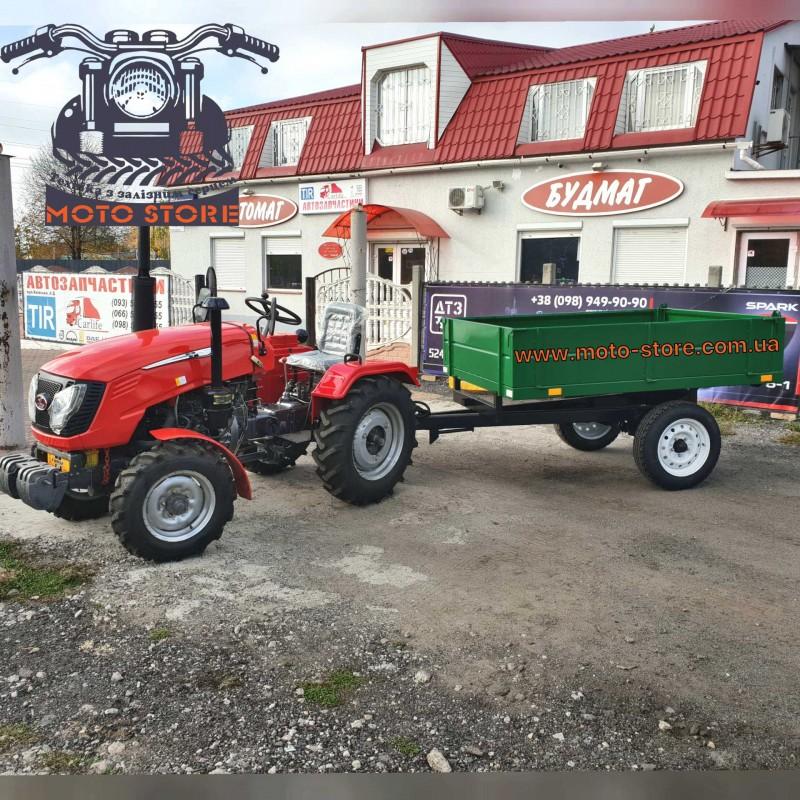 Тракторный прицеп 1 ПТС 2