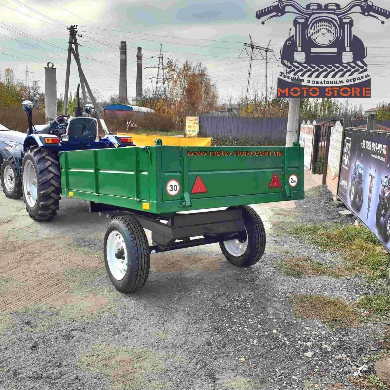 Тракторний причіп 1ПТС-2