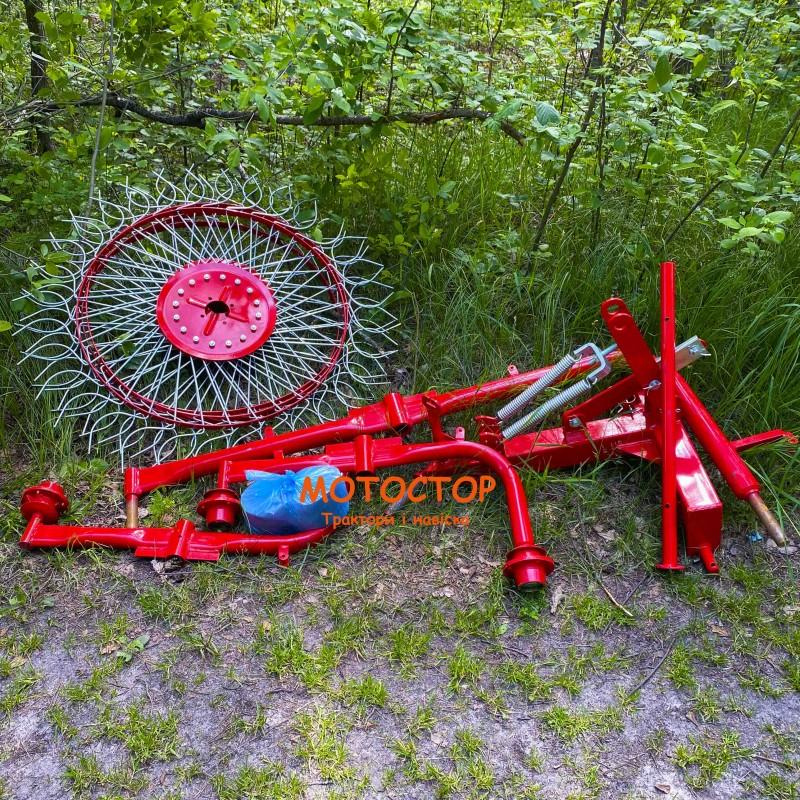 Грабли ворошилка 4 колеса (Грабли солнышко)